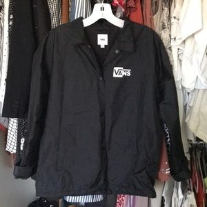 Vans rain jacket